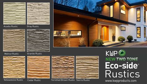 introducing  rustic collection kwp products