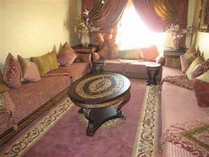 idee deco pour salon marocain oriental With idee deco salon oriental