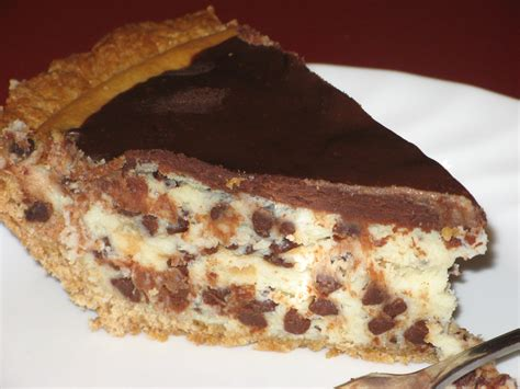 chocolate cheesecake tart chocolate chip cheesecake pie the finer things in life