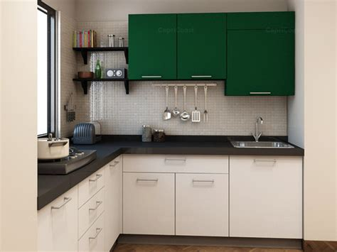 shaped modular kitchen  rs  units  square