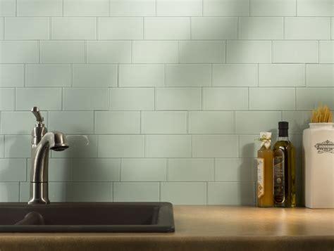 aspect glass peel stick backsplash tiles
