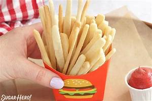 Sugar Cookie French Fries