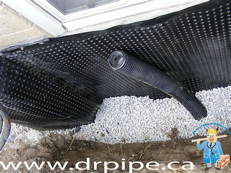 how does a weeping tile work waterproofing toronto and gta