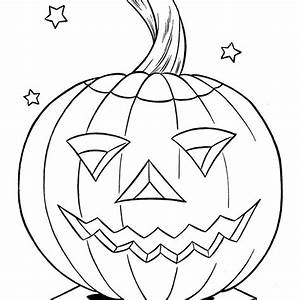 Pumpkin Halloween Coloring Pages Free Coloring Pages Globalchin