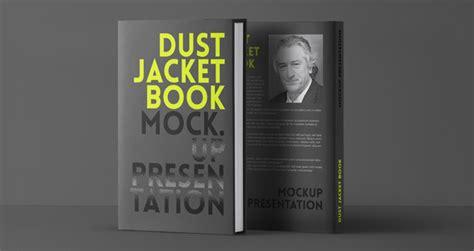 psd dust jacket book mockup psd mock  templates pixeden