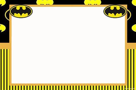batman  printable invitation templates invitations