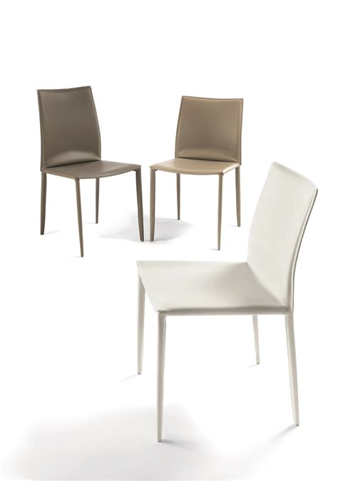 chaises casa chaise en cuir tannée collection chaises by bontempi