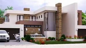 Modern Style House Plan  4 Bedroom  Double Storey Floor