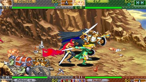 capcoms arcade era dungeons  dragons games listed