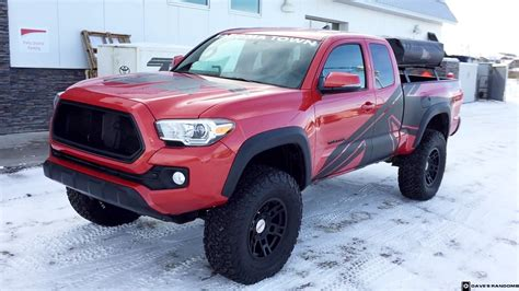 2 side TOYOTA TRD TACOMA GRAPHICS DECALS bedside VINYL