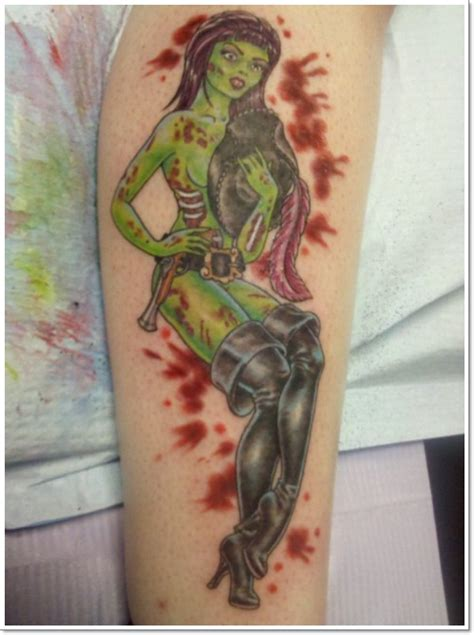 Super Sexy Pin Up Girl Tattoo Designs
