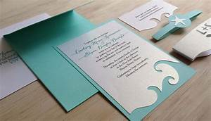 beach themed wedding invitation beach theme wedding With handmade wedding invitations beach theme