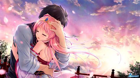 Anime Hug Wallpapers - sen no hatou tsukisome no kouki 4k ultra hd wallpaper