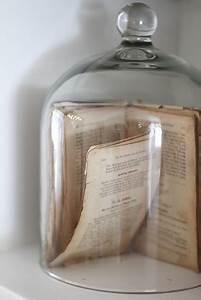 Cloche Verre Deco : globe en verre 10 id es pour une d co sous cloche une hirondelle dans les tiroirs ~ Teatrodelosmanantiales.com Idées de Décoration