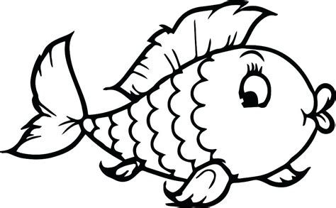 Free Printable Fish Colouring Pages Coloring Finding