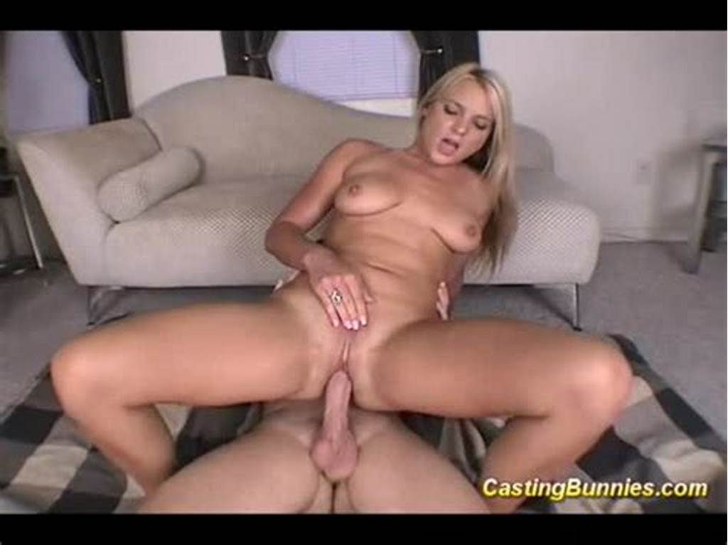 #Casting #Blonde #Bunny #Sucking