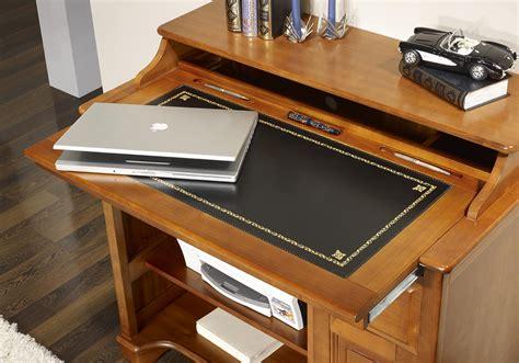 bureau petit prix petit bureau informatique elise en merisier de style louis