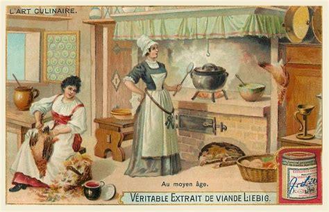 histoire de la cuisine et de la gastronomie fran軋ises la cuisine au moyen age 28 images coutumes et