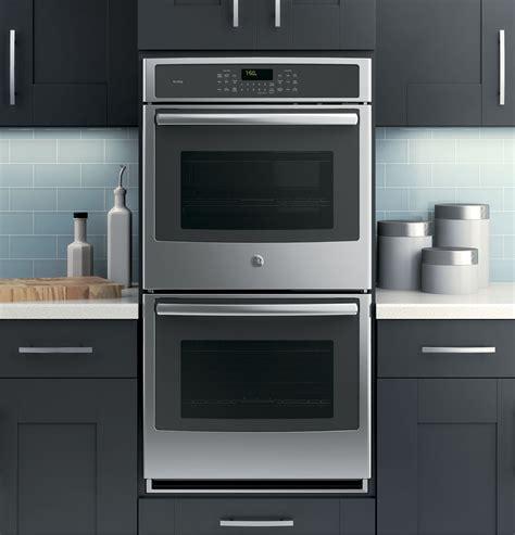 ge profile series  built  double convection wall oven pksfss ge appliances