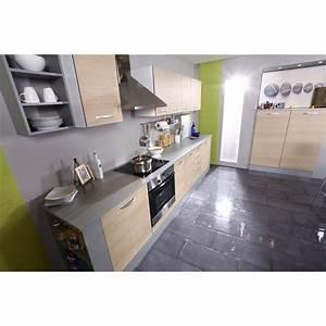 Meuble Cuisine Haut : meuble haut de cuisine moderne 60 cm coloris ch ne clair meubles haut meuble de cuisine ~ Teatrodelosmanantiales.com Idées de Décoration