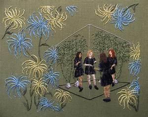 Embroidered psychological landscapes by michelle kingdom for New embroidered psychological landscapes by michelle kingdom