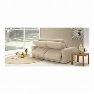 Canapé Angle Convertible Beige : canape convertible beige ~ Teatrodelosmanantiales.com Idées de Décoration