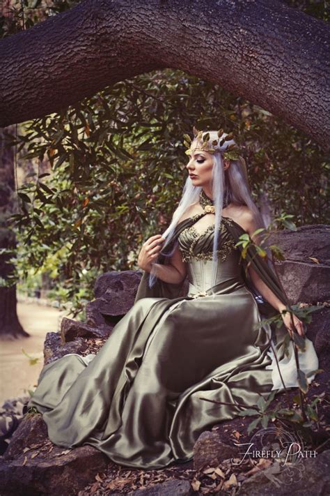 bridal elf  lillyxandra female elf princess queen crown