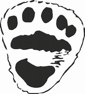 polar bear paw print template search results calendar 2015 With bear footprints template