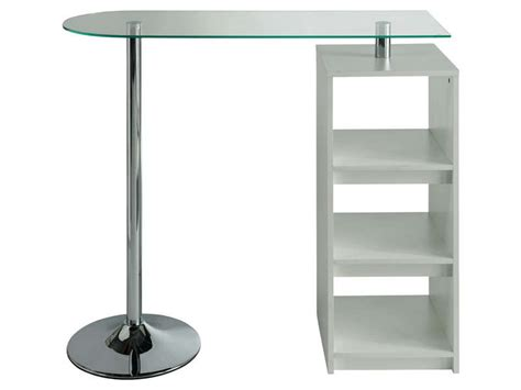 castorama table de cuisine table de bar youen coloris blanc vente de table de
