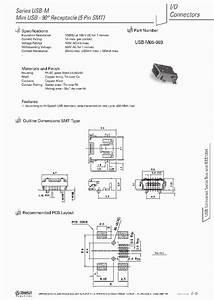 Usb-m05-003 3290892 Pdf Datasheet Download