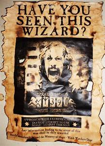 Aged Harry Potter Sirius Black Wanted from HallOfRelics on ...