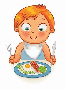 Meal clipart for kid - Pencil and in color meal clipart ...