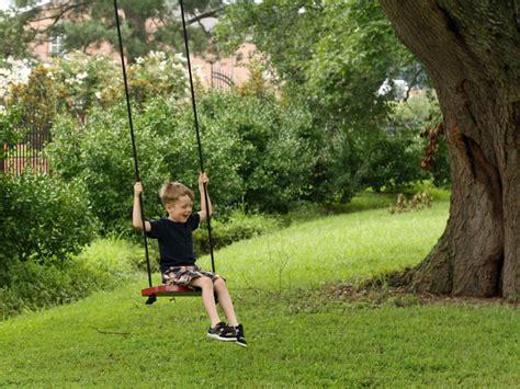 hgtv ideas magazine how to a tree swing hgtv