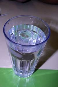 Glass Of Water Free Stock Photo