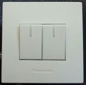 Jual Saklar Seri Panasonic White Style   Putih Minimalis