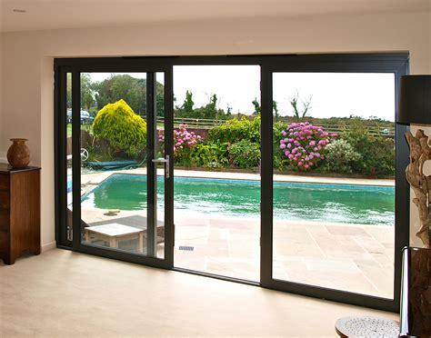 Black Framed Sliding Glass Doors  Sliding Door Designs