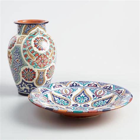 World Market Vases - safi ceramic platter and vase world market