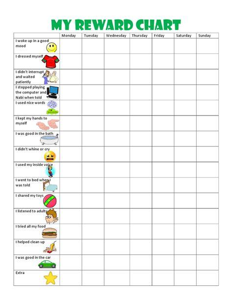 printable behavior charts  preschool shop fresh