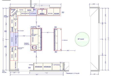 kitchen island spacing favorite 15 kitchens with islands floor plans photos