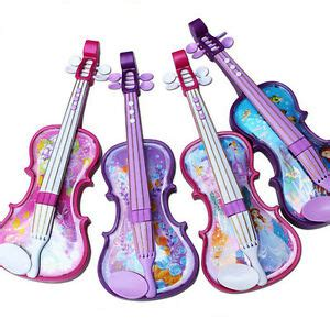 colors childrens violin bow kids musical string