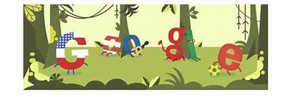 Google Cup Doodle Portugal Doodles Fifa Logos