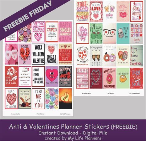Send that special someone a there is no commitment and you receive numerous advantages: Valentines Day Planner Freebies | Printable planner ...