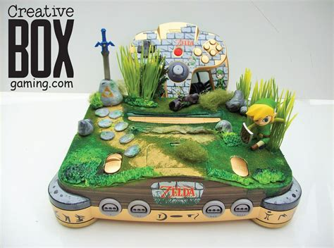 Toon Link Custom Nintendo 64 Console By Creativeboxgaming