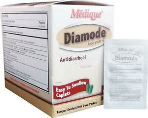 Diamode Anti-Diarrheal Pain Relief Tablets By Medique ...