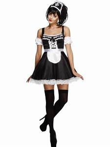 Adult Flirty French Maid Costume - 31212 - Fancy Dress Ball