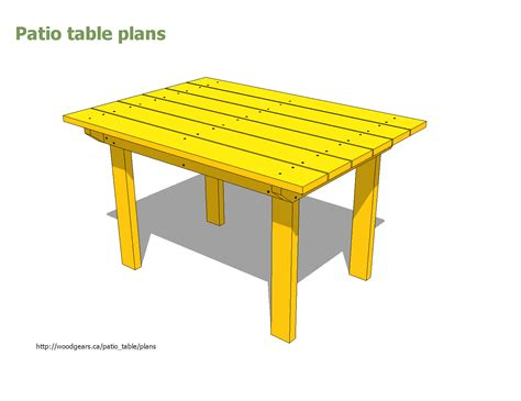 free outdoor side table plans image mag