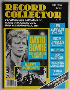 David Bowie Uk Record Collector Magazine November 1991 ...