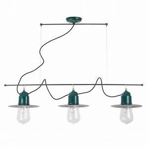 Suspension Multiple Luminaire : suspension ampoule multiple solitario de style industriel ~ Melissatoandfro.com Idées de Décoration
