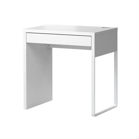 table bureau but micke desk white 73x50 cm ikea