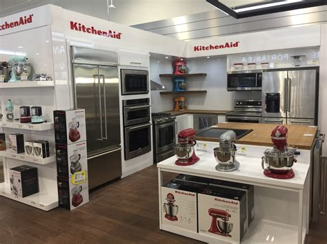 experience  appliance section   newly designed